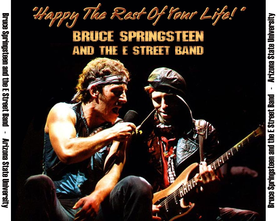 springsteen bootleg happy the rest of your life