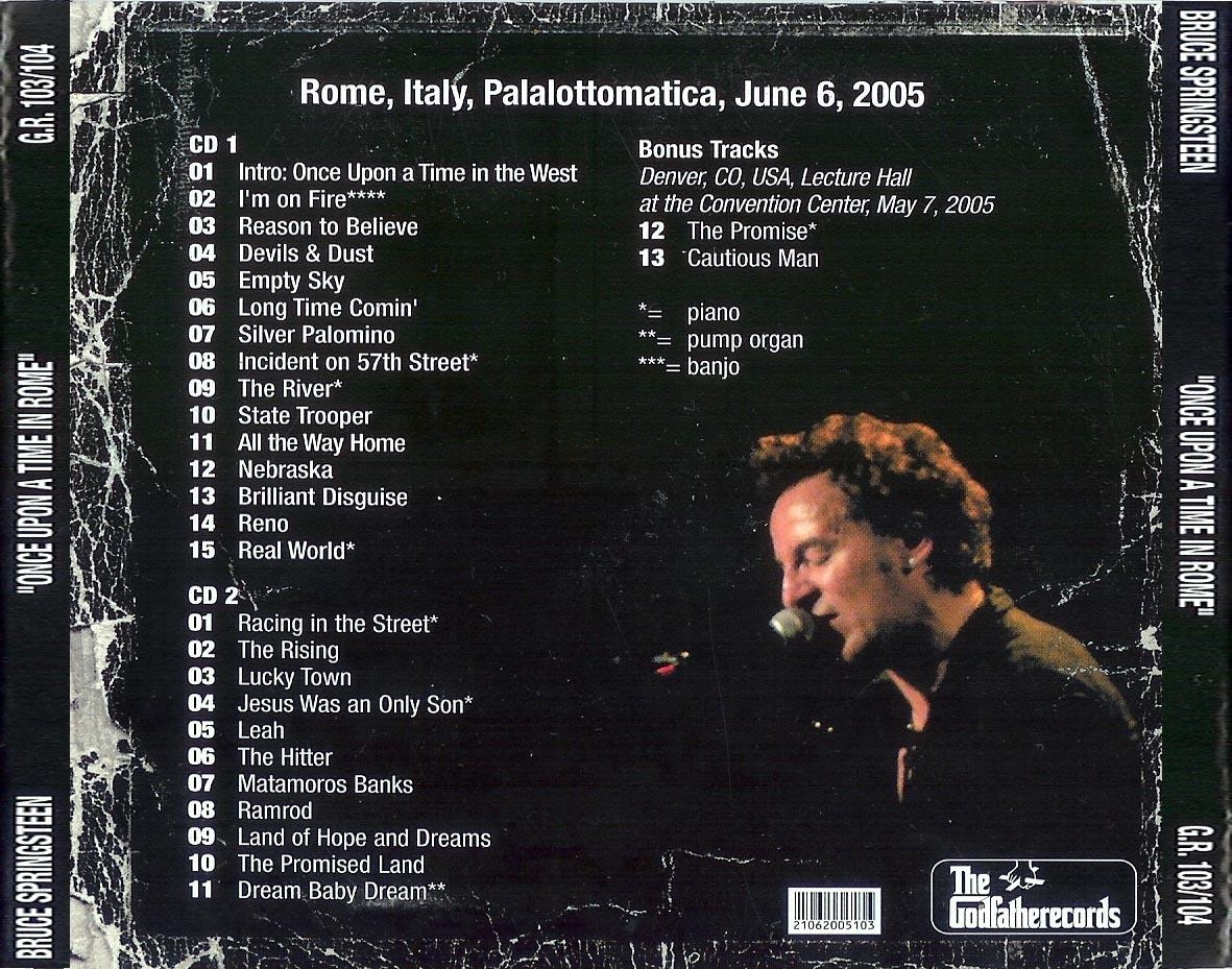 Bruce Springsteen Tokyo Tour