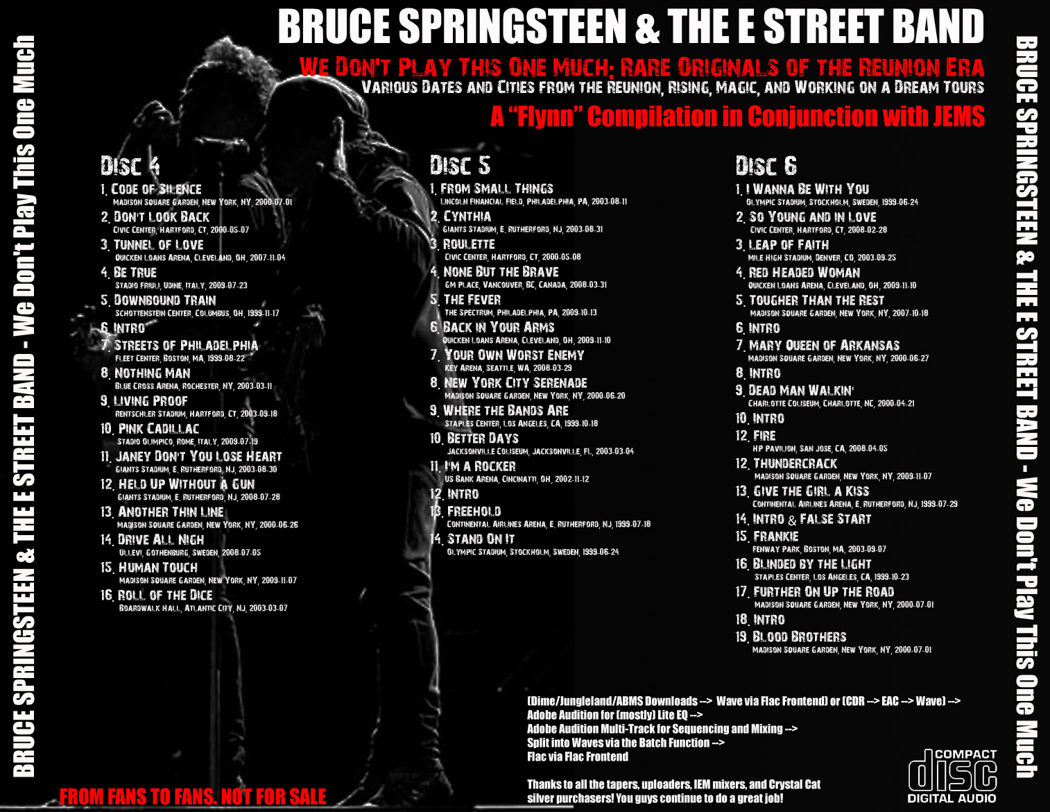 stand on it bruce springsteen cd
